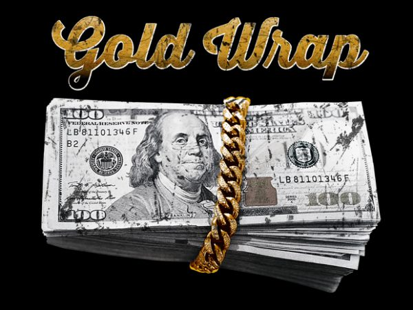Gold Wrap buy t shirt design