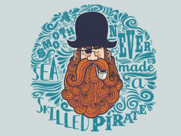 Pirate buy t shirt design
