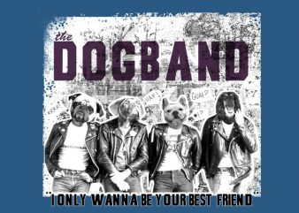 Dogband buy t shirt design