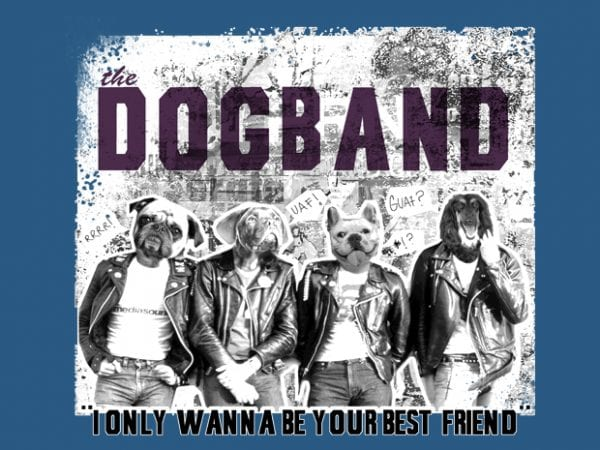 Dogband buy t shirt design