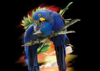 Blue Macaw buy t shirt design