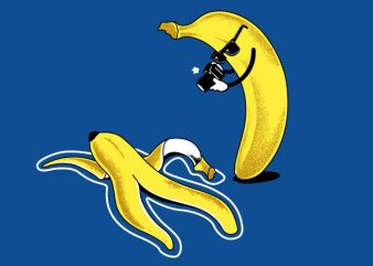 Banana Murder t shirt template