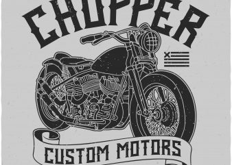Motorcycle buy t shirt design