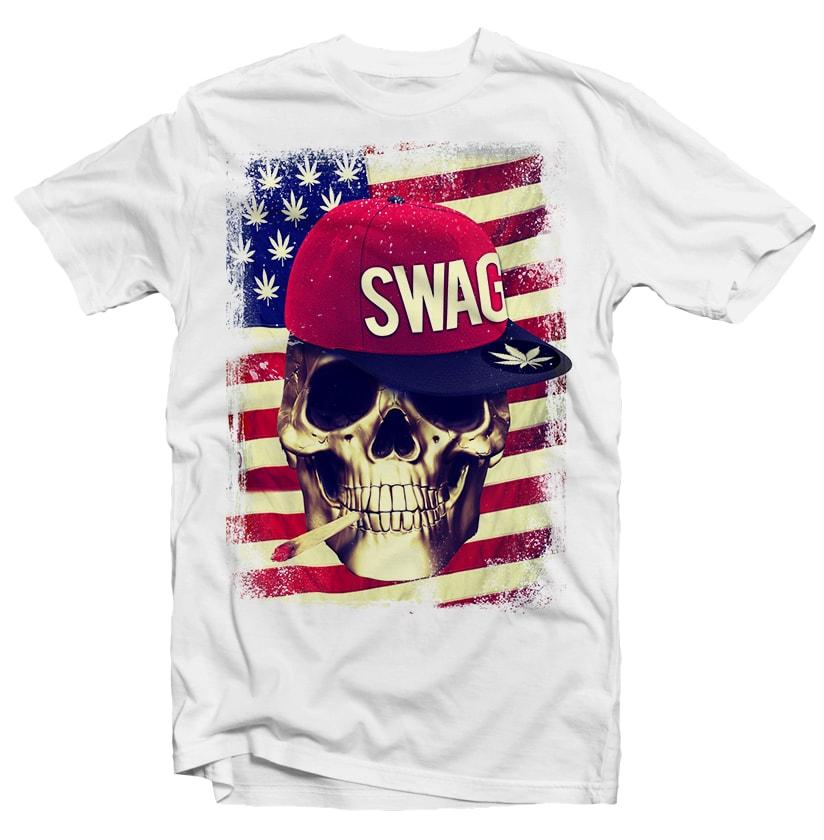 Swag Skull buy t shirt design