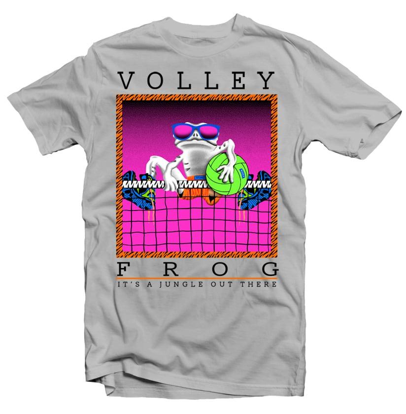 Volley Frog buy t shirt design