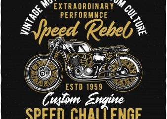 Speed Challenge buy t shirt design
