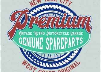 Motorcycle garage t shirt designs for sale