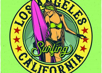 Surfing buy t shirt design