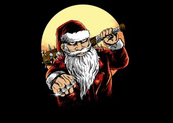 bad santa buy t shirt design