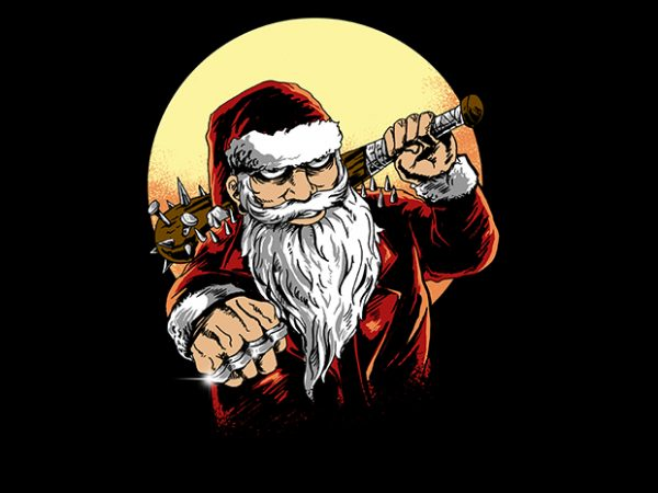 bad santa t shirt template