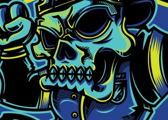 SWG Urban Skull buy t shirt design