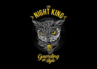 the night king t shirt designs for sale
