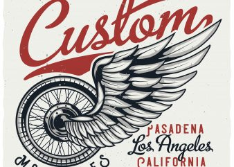 Custom motorcycles buy t shirt design