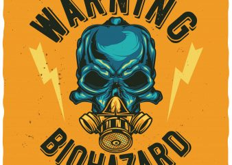 Biohazard buy t shirt design