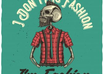 Fashion t shirt graphic design