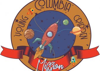 Columbia mission buy t shirt design