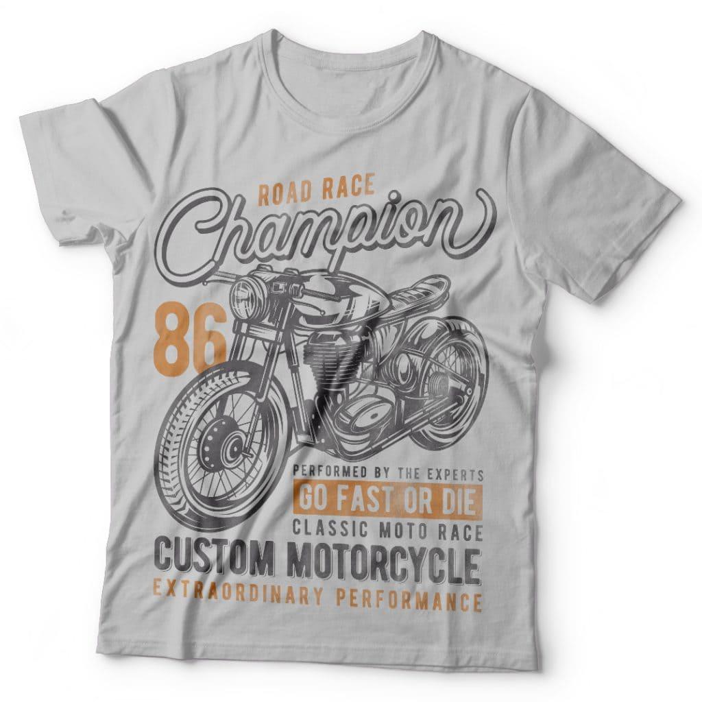 Road Race Champion Best T Shirt Design
