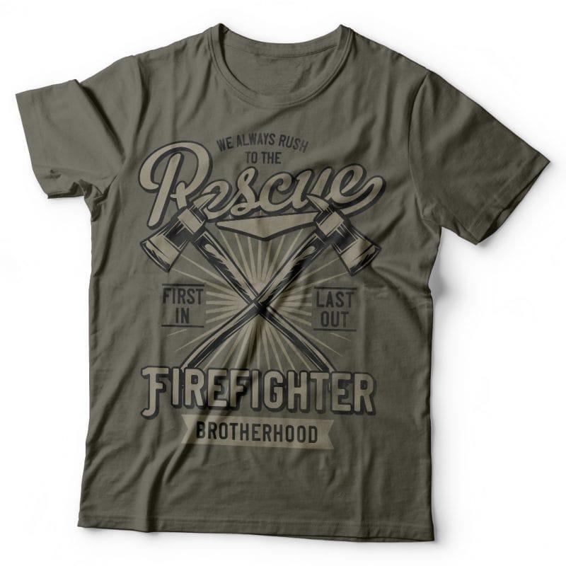 Firefighter buy t shirt design