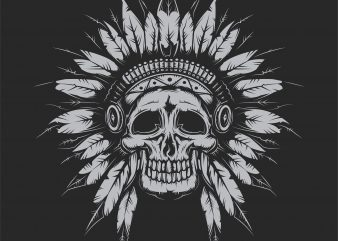 Indian chief buy t shirt design