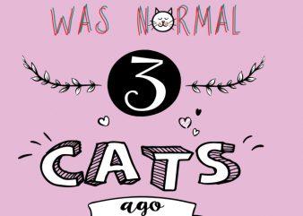 3 cats ago buy t shirt design