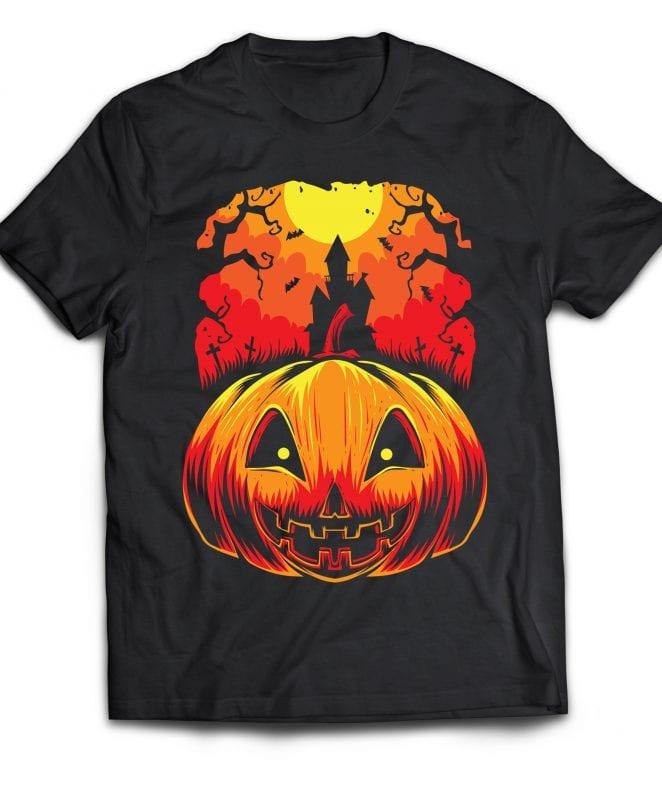 Halloween buy t shirt design