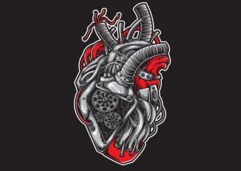 Heart Machine graphic t shirt