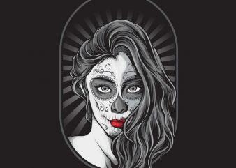 La Muerte buy t shirt design