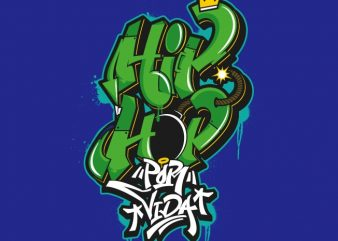 Hip Hop Art buy t shirt design