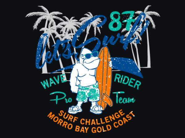 Gorilla Surf buy t shirt design