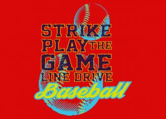 Baseball buy t shirt design