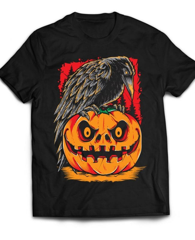 Raven buy t shirt design