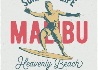 Surf for life buy t shirt design