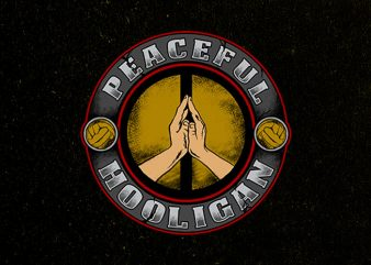 peaceful hooligan buy t shirt design