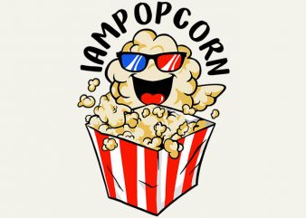 love popcorn buy t shirt design