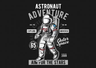 Astronaut Adventure buy t shirt design