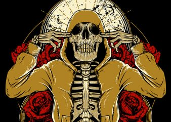 Hip Hop and Roses buy t shirt design