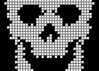 Skull Tetris buy t shirt design
