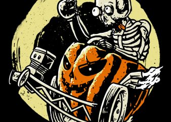 Halloracerween buy t shirt design