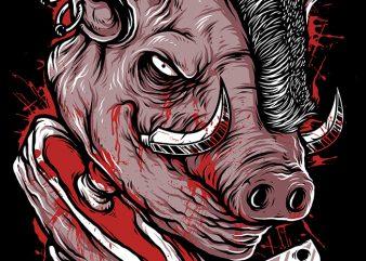Pig Saw buy t shirt design