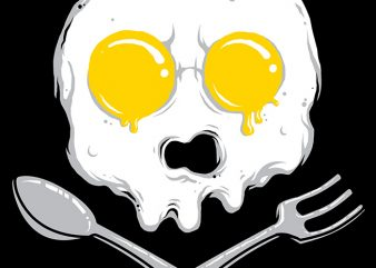 Eggskull buy t shirt design