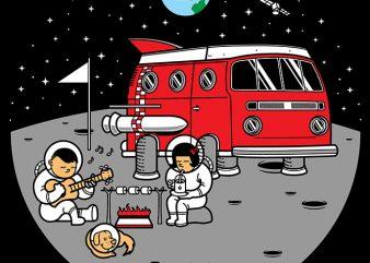 Combistronaut t shirt vector file