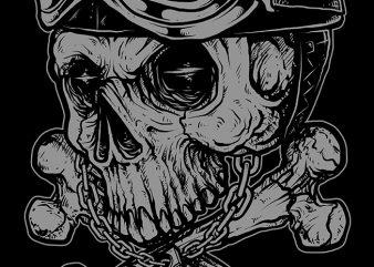Dead Rider t shirt vector
