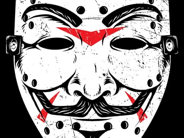 Friday Anonymous t shirt graphic design