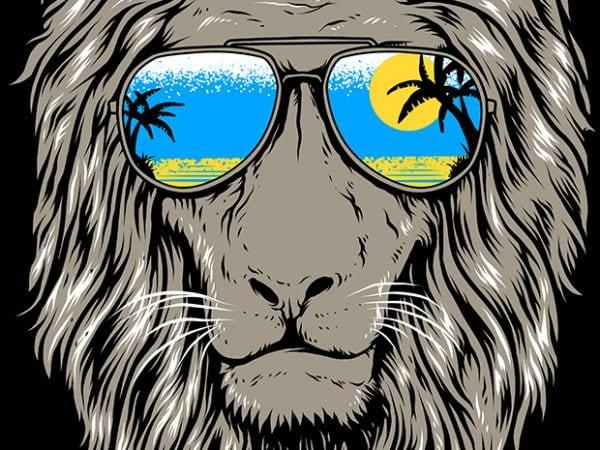 King of Summer t shirt vector art