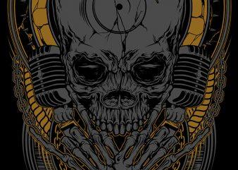 Metal Disc Jockey t shirt designs for sale