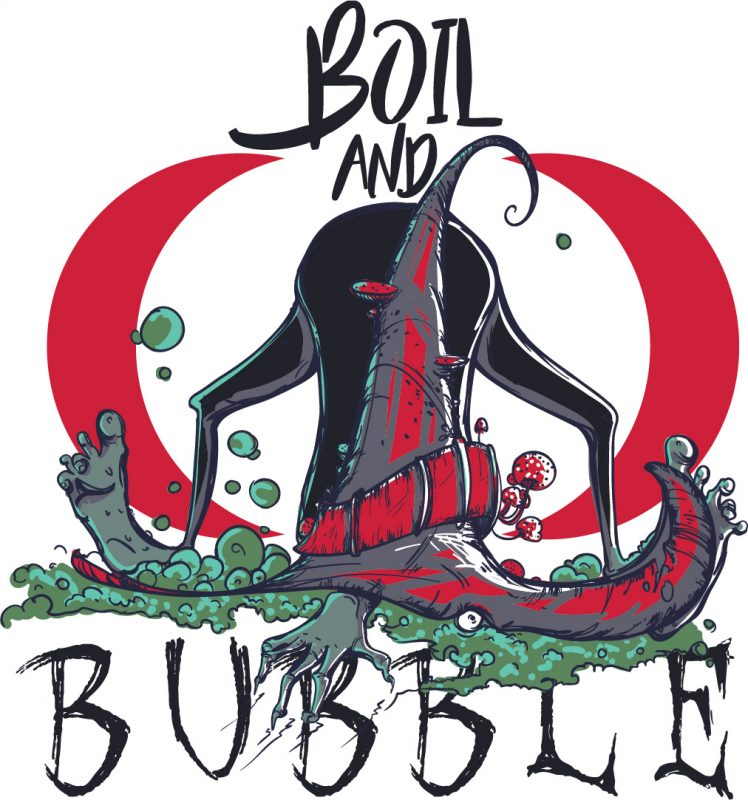 Boil and bubble buy t shirt design