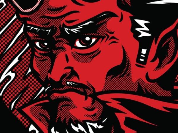 Find Devils t shirt graphic design