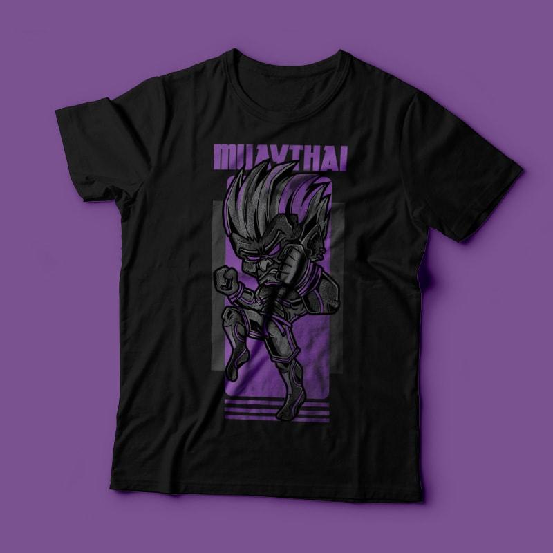Muay Thai buy t shirt design