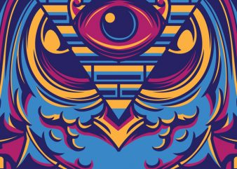 Eyes of Ra vector clipart