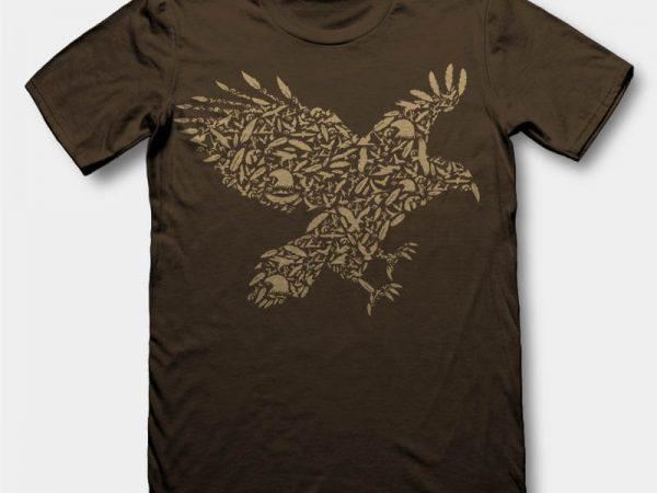 Eagle Vector t-shirt design - Buy t-shirt designs